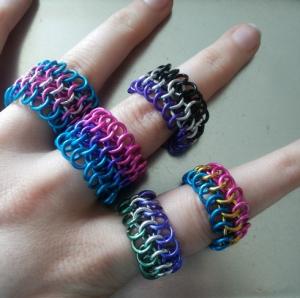 Rings in European 4-in-1. | Ringen in Europees 4-in-1.